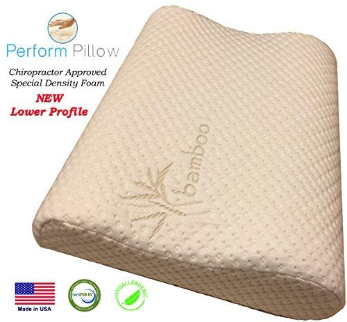 #1 Perform Pillow Memory Foam Neck Pillow