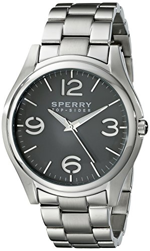 Sperry Top-Sider Men'S 10017169 Boat Life Analog Display Japanese Quartz Silver Watch