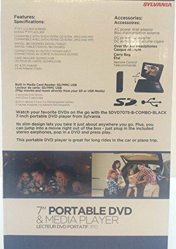 """Sylvania 7"""" Portable DVD"""