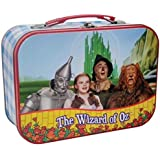 7.5 Inch The Wizard of Oz Four Friends Together Tin Lunch Pail Box