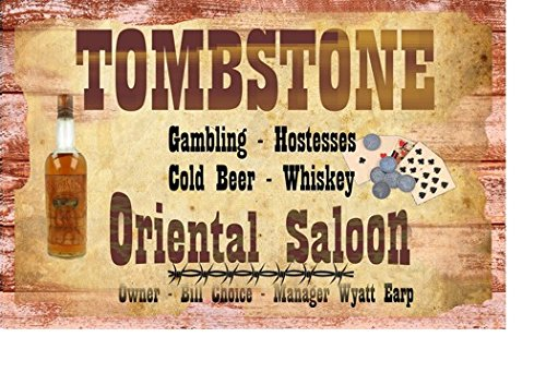 POSTER-PRINT-Tombstone-Oriental-Saloon-Wyatt-Earp-Manager-11-x-17-Inches-11-x-17-old-west