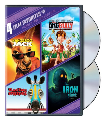 4 Film Favorites: Family Fun (The Ant Bully, The Iron Giant: Special Edition, Kangaroo Jack, Racing Stripes)