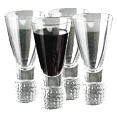 Golf Gifts & Gallery Clubhouse Collection Golf Ball Dimpled Shot Glasses by Golf Gifts & Gallery