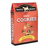 Healthy Baker All-Natural Dog Cookies, Wild Animals, 16-Ounce