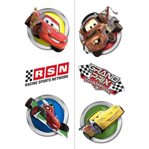 Disney/Pixar Cars Dream Party Tattoos 12 Pack