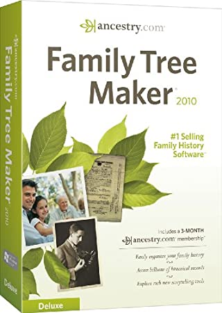Family Tree Maker 2010 Deluxe
