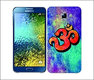 Galaxy Printed 2526 Om Colured washed Hard Cover for Samsung A3