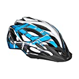 Bell Sequence Helmet - Matte Red/Blue Jimbo Punker, Medium