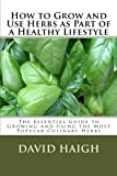 img - for How to Grow and Use Herbs as Part of a Healthy Lifestyle: The Essential Guide to Growing and Using the Most Popular Culinary Herbs (Volume 1) book / textbook / text book