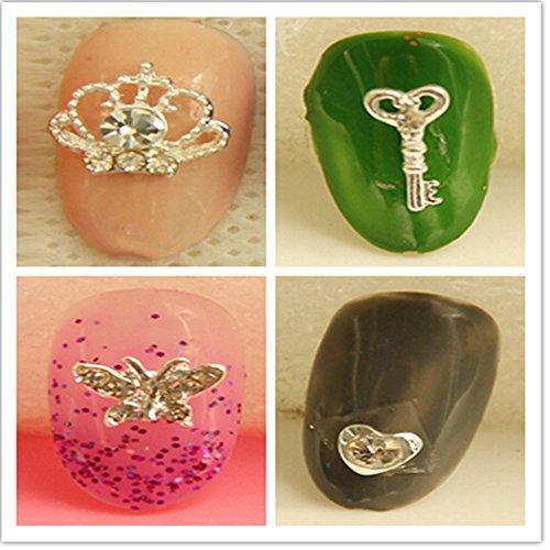 evtechtm-12-pc-nail-sticker-strass-cristal-de-diamant-gems-croix-dargent-coeur-animal-love-alliage-3