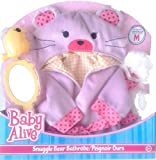 Baby Alive Clean and Cuddly Set- Snuggle Bear Bathrobe by Hasbro