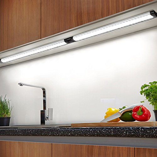 Albrillo under cabinet led lighting dimmable under counter lighting albrillo under cabinet led lighting dimmable under counter lighting 900 lumens daylight white 6000k pack of 3 aloadofball Choice Image