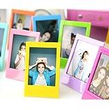 CAIUL 5 Different Colorful Film Decor Borders for Fuji 3inch Instax Mini 8 90 50s 25 Film