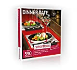 Buyagift Dinner Date Experience Gift Box - 590 gourmet gift experiences from afternoon tea to wine tasting