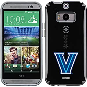 Coveroo CandyShell Case for HTC One M8 - Retail Packaging - Black/Villanova University V Design