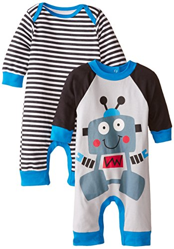 Gerber Baby-Boys Newborn Robot 2 Pack Coverall, Robot, 3-6 Months (Infant Robot Clothes compare prices)