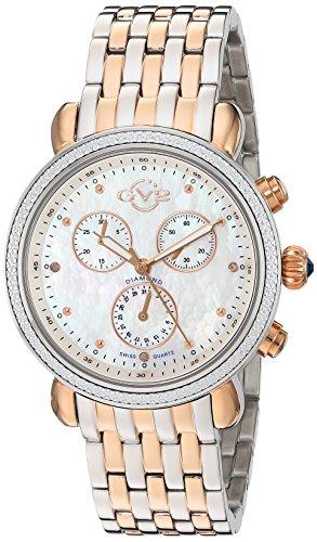 GV2-by-Gevril-Womens-9807-Marsala-Analog-Display-Swiss-Quartz-Two-Tone-Watch