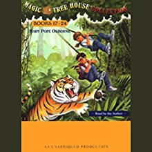 Magic Tree House Collection: Books 17-24 Audiobook by Mary Pope Osborne Narrated by Mary Pope Osborne