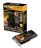 Zotac NVIDIA GF GTX 580 AMP Grafikkarte (PCI-e, 1536MB GDDR5 Speicher, Dual DVI, Mini-HDMI, 1 GPU) Full Retail