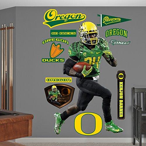 NCAA Oregon Ducks Kenjon Barner Wall Graphic
