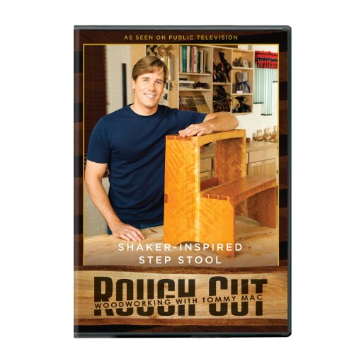 Rough Cut: Woodworking - Shaker-inspired Step Stool ( + Printed Plans)