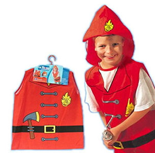 ShonanCos Kids Costume Role-Playing Clothes Firefighters Halloween Cosplay