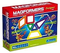 Big Sale Best Cheap Deals Magformers Magnetic Building Construction Set - 62 Piece Designer Set