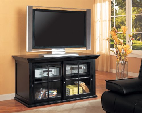 Inland Empire Furniture Ronson BlaCalifornia King Solid Wood Flat Panel TV Stand