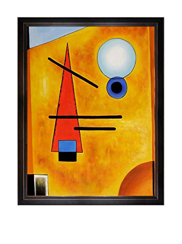 Wassily Kandinsky Cool Framed Hand-Painted Reproduction, Multi, 53