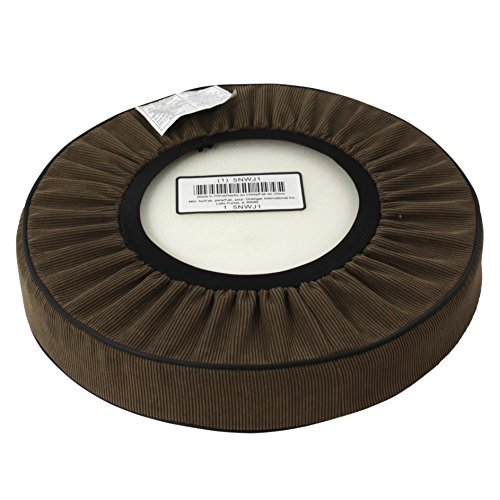 Dakota Designs 5nwj1 Stool Cushion Round Padded Brown