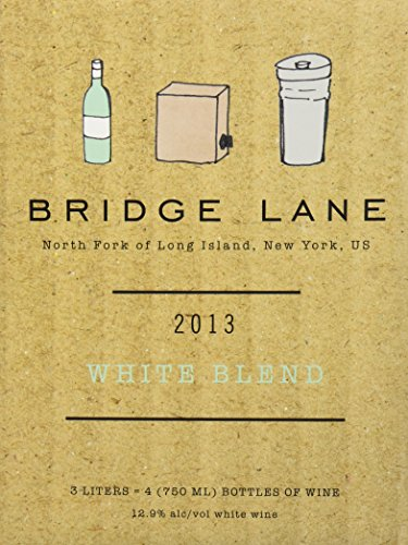 2013 Bridge Lane North Fork Of Long Island White Blend (Box) 3 L