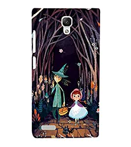 Fuson Premium Back Case Cover Cartoon With Brown Background Degined For Xiaomi Redmi Note::Xiaomi Redmi Note 4G
