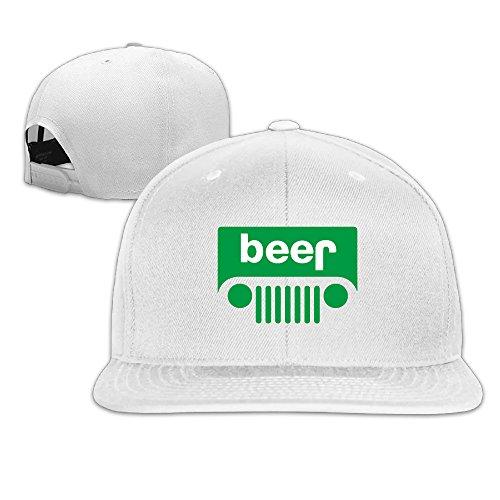 Vintage Classic Beer Jeep Logo Trucker Hat