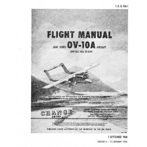 North American Aviation OV 10 Aircraft Flight Manual