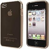 ECENCE Apple iPhone 4 4S Coque de protection housse case cover noir 21010105