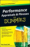 Performance Appraisals and Phrases For Dummies (For Dummies (Lifestyles Paperback))
