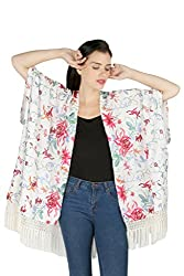 Aaliya Woman's Polyester crepeJackets- Multicolor-S