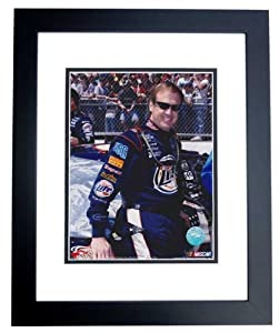 Rusty Wallace Unsigned 8x10 inch Racing Photo - BLACK CUSTOM FRAME by Real Deal Memorabilia