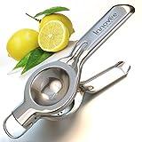 Innovee Zitronenpresse - Premium Qualität Professioneller Zitruspresse im Edelstahl mit Frei Zitronen Rezepte Ebook