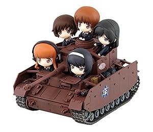 ガールズ&パンツァー IV号戦車D型改 H型仕様 エンディングVer. ノンスケール 全長約115mm フィギュア5体付 塗装済完成品 PD20