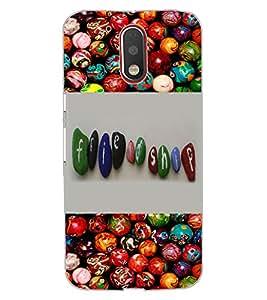 ColourCraft Friendship Design Design Back Case Cover for MOTOROLA MOTO G4 PLUS