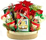 Hearthside Gourmet Christmas Holiday Gift Basket