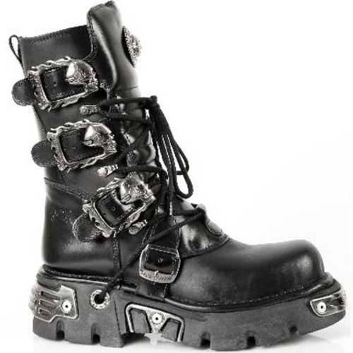 NEW ROCK LEDER BOOTS-38