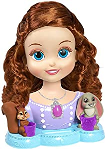 Amazon.com: Sofia the First Styling Head: Toys & Games