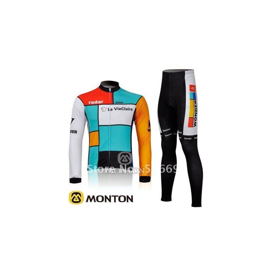2011 wonder long sleeve cycling jersey and pants cycling wear cycling  clothing bike jersey 10ba71f5d