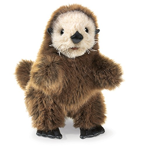 Folkmanis-Baby-Sea-Otter-Hand-Puppet