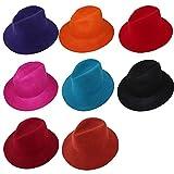 アーノルドパーマー 帽子 クラシカル ウール 中折れ つば広ハット 帽子 女優帽 セレブ