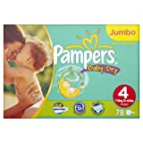 Pampers Baby Dry Size 3 (Midi) Jumbo Pack 78 Nappies