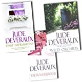 Jude Deveraux 3 Books Collection Pack Set RRP: �21.97 (First Impressions, Summerhouse, Wild Orchids)by Jude Deveraux