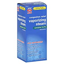 Rite Aid Pharmacy Vaporizing Steam, Medicated, 8 oz (237 ml)